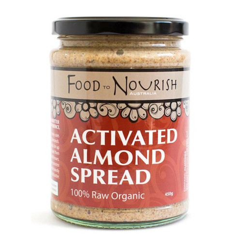 Food to Nourish Spread Sprouted Almond 450g