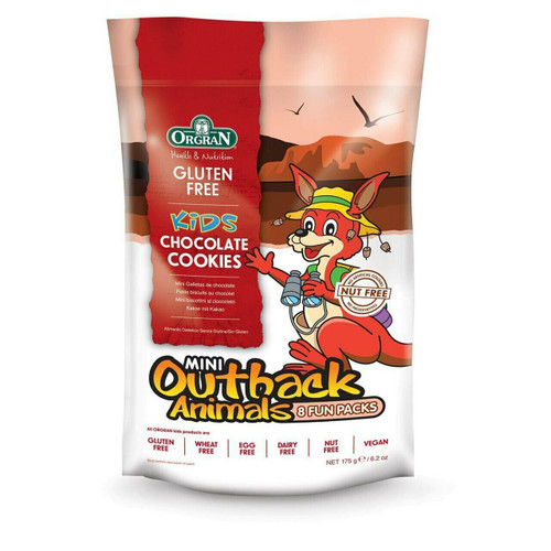 Cookies Outback Animal Choc