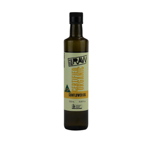 Every Bit Organic Raw Sunflower Oil Unrefined 500ml