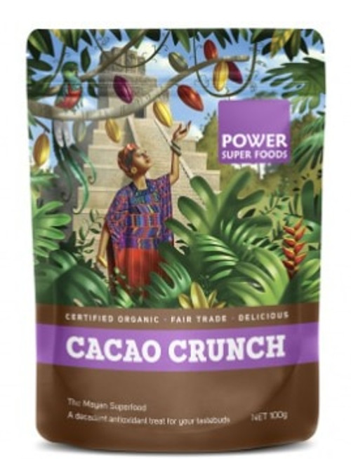Power Super Foods Cacao Crunch Organic 100g