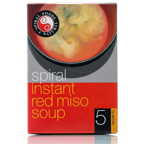 Spiral Instant Miso Red 7g x 5pk