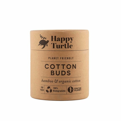 Org Cotton&Bamboo Cotton Buds