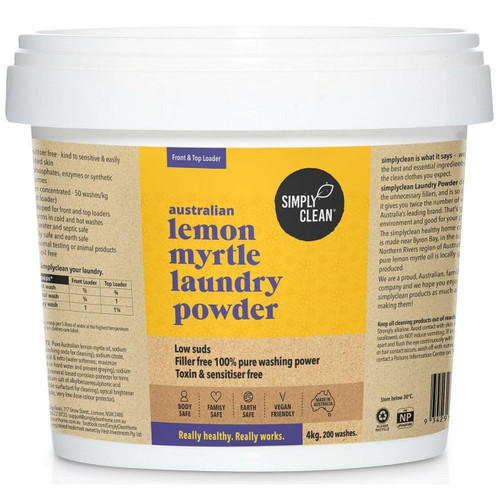 Lemon Myrtle Laundry Powder