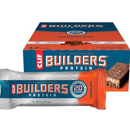 Clif Builders Bar Chocolate 12x68g