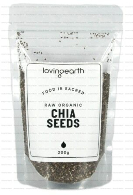 Loving Earth Chia Seeds 200g