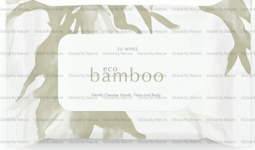 Eco Bamboo Bamboo Wipes 20s
