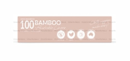 Pandas by Luvme ECO Bamboo Flushable Liners 100 Pk