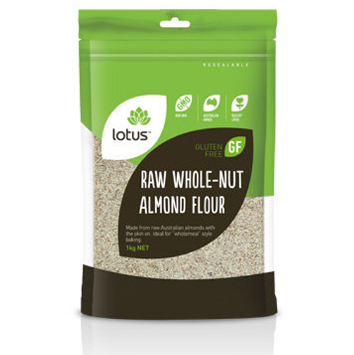 Lotus Almond Flour Raw Whole-nut 1kg