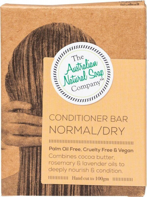The Aust. Natural Soap Co Conditioner Bar Normal/Dry 100g