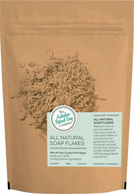 The Aust. Natural Soap Co All Natural Soap Flakes 300g
