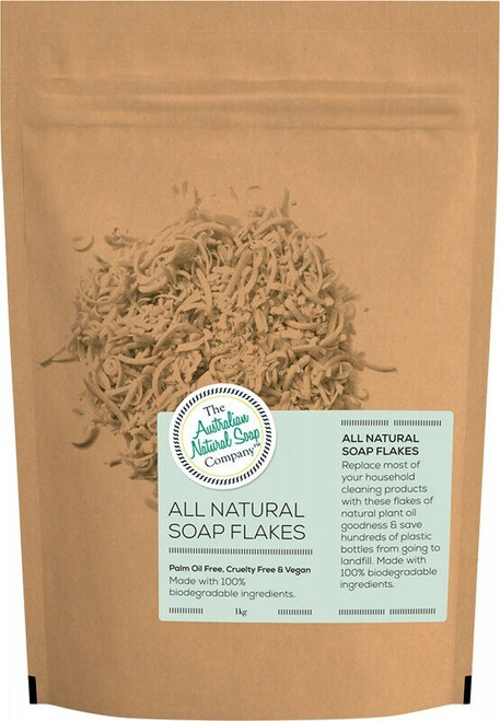The Australia Natural Soap Co All Natural Soap Flakes 1kg
