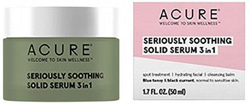 Acure Seriously Soothing Solid Serum 3in1 50ml