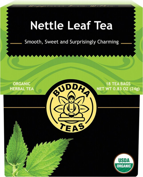 Buddha Teas Organic Herbal Tea Bags Nettle Leaf Tea x18