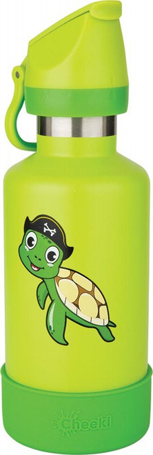 Cheeki Kids Bottle Insulated - Turtle 400ml