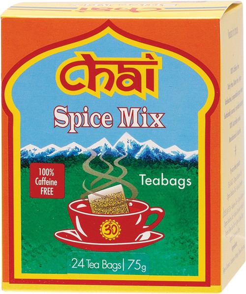 Chai Tea Spice Mix Tea Bags x24
