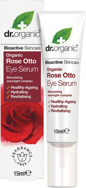 Dr Organic Eye Serum Organic Rose Otto 15ml