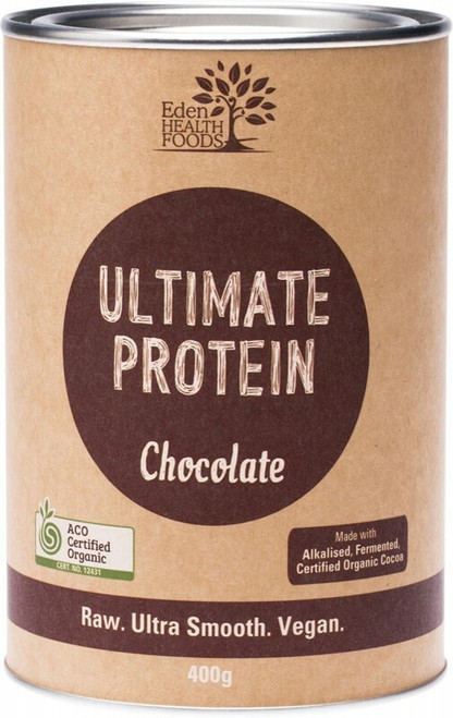 Eden Healthfoods Ultimate Protein Sprouted Brown Rice - Chocolate 400g