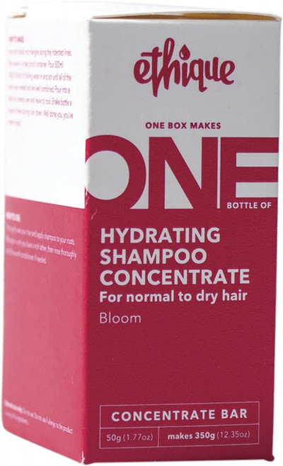 Ethique Hydrating Shampoo Concentrate for Normal to Dry Hair - Bloom 50g