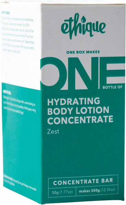 Ethique Hydrating Body Lotion Concentrate - Zest 50g
