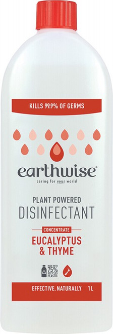 Earthwise Disinfectant Eucalyptus & Thyme 1L