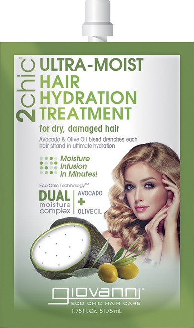 Giovanni Hair Hydration Treatment Ultra-Moist (Dry, Damaged Hair) 51ml