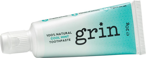 Grin Toothpaste (Mini) Cool Mint 20g