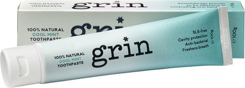 Grin Toothpaste Cool Mint 100g