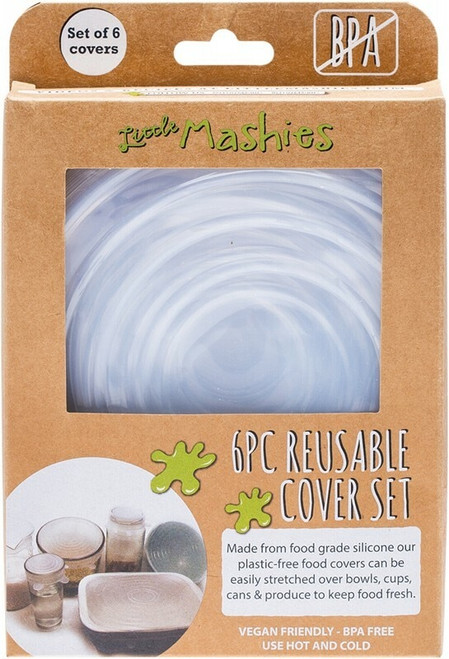 Little Mashies Reusable Bowl Cover Set Pack of 6 x6