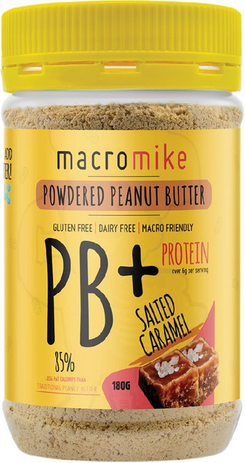 Macro Mike Powdered Peanut Butter Salted Caramel 180g