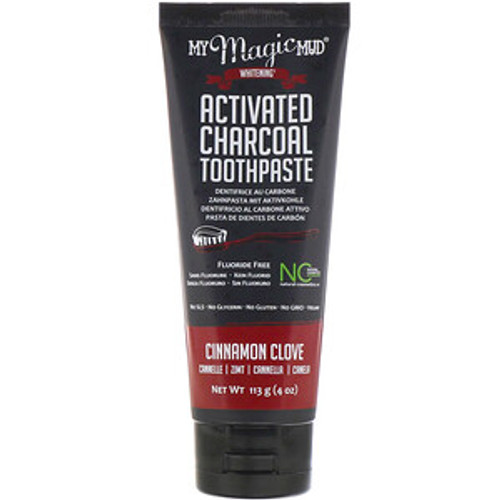 My Magic Mud Activated Charcoal Toothpaste Cinnamon Clove 113g
