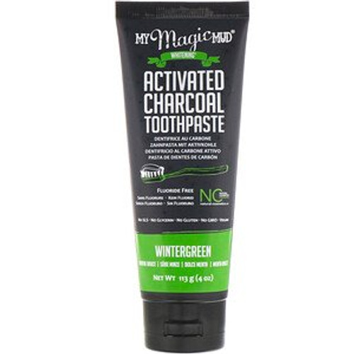 My Magic Mud Activated Charcoal Toothpaste Wintergreen 113g