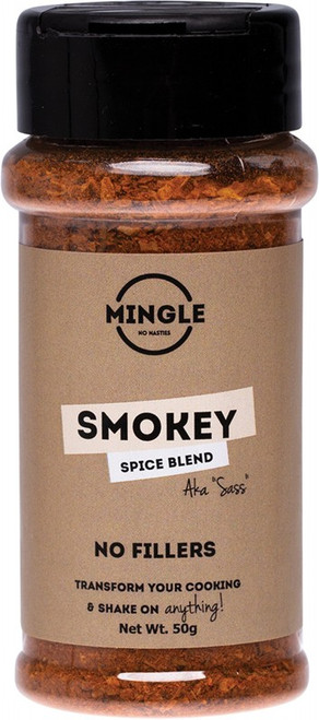 Mingle Natural Seasoning Blend Smokey (Sass) 50g