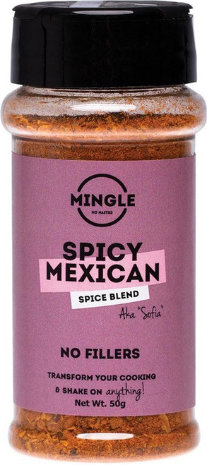 Mingle Natural Seasoning Blend Spicy Mexican (Sofia) 50g