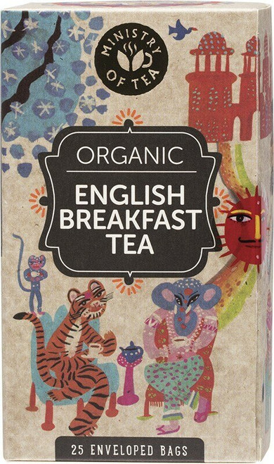 Ministry Of Tea Herbal Tea Bags English Breakfast x25