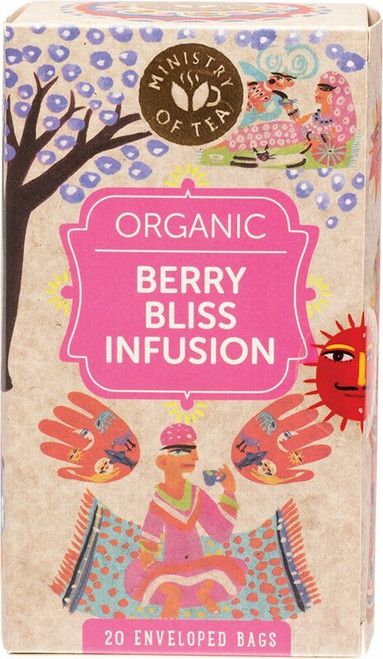 Ministry Of Tea Herbal Tea Bags Berry Bliss Infusion x20