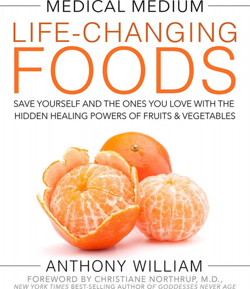 Book Medical Medium Life-Changing Foods By Anthony William x1