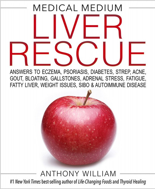 Book Medical Medium Liver Rescue By Anthony William x1