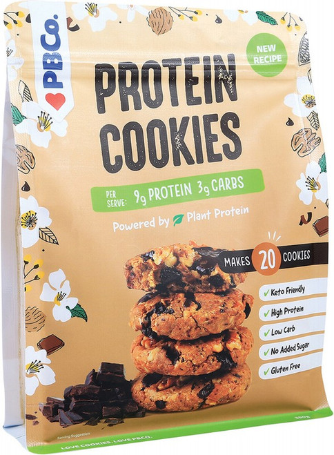 Pbco. Protein Cookies Plant Protein 350g
