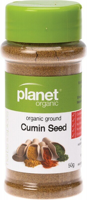 Planet Organic Spices Cumin Seed Ground 50g