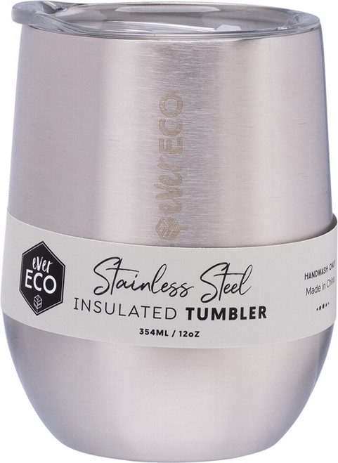 Ever Eco Insulated Tumbler Brushed Stainless 354ml