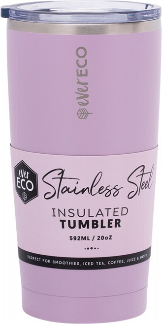 Ever Eco Insulated Tumbler Byron Bay - Purple 592ml