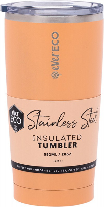 Ever Eco Insulated Tumbler Los Angeles - Coral 592ml