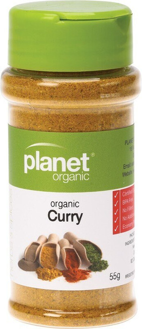 Planet Organic Spices Curry 55g
