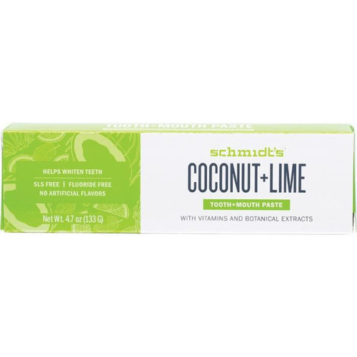 Schmidt's Tooth + Mouth Paste Coconut + Lime 133g