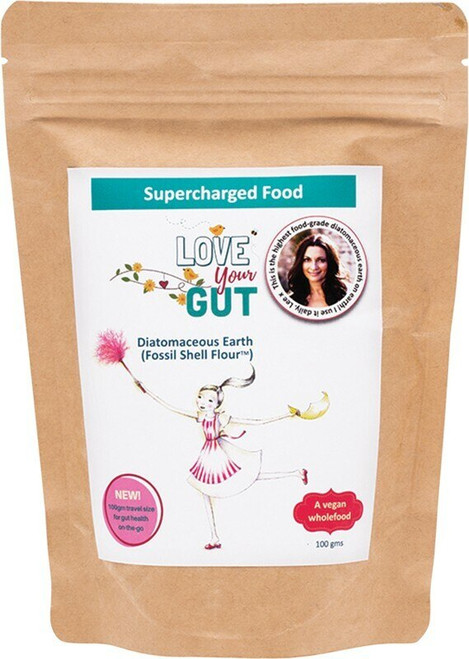 Supercharged Food Love Your Gut Powder Diatomaceous Earth 100g