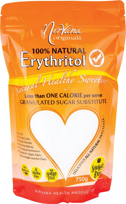 Nirvana Originals Erythritol 100% Natural 750g