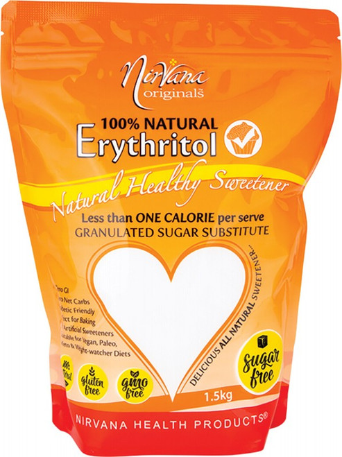 Nirvana Originals Erythritol 100% Natural 1.5kg