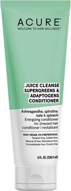 Acure Juice Cleanse S/Greens & Adaptogens Conditioner 236ml