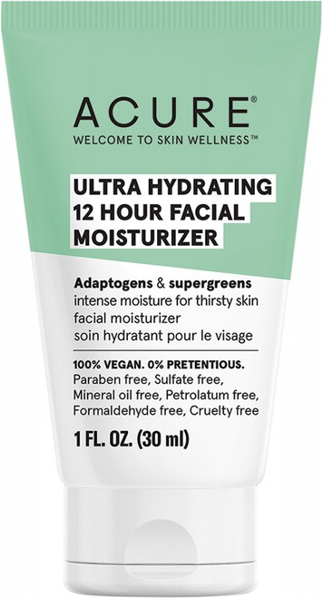 Acure Ultra Hydrating 12 Hour Facial Moisturizer 30ml
