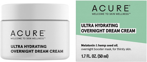 Acure Ultra Hydrating Overnight Dream Cream 50ml